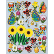 Spring and Summer Decorating Easy Pack (kit of 46)