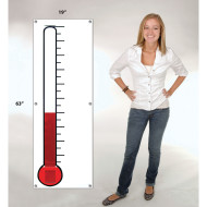 Thermometer Fundraising Banner