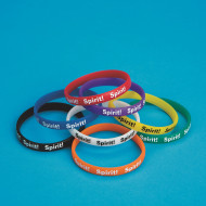 Spirit Silicone Bracelets (pack of 24)