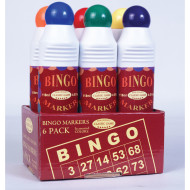 Bingo Markers (set of 6)