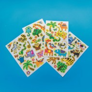 Jungle Wall/Window Stickers (pack of 12)