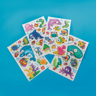 Sealife Wall/Window Stickers (pack of 12)
