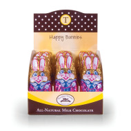 1-oz. Chocolate Bunnies  (box of 24)