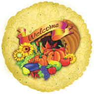 Welcome Cornucopia Mylar Balloon (pack of 10)