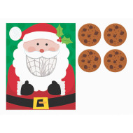 Santa Disc Toss Game