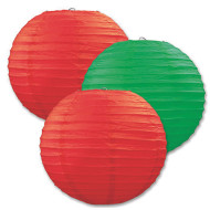 Holiday Paper Lanterns (pack of 3)