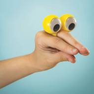 Finger Puppet Eyes (pack of 24)