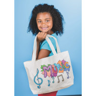 Color-Me™ Canvas Tote with Gusset