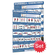 Dumbbell Posters (set of 2)