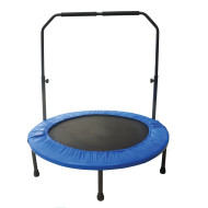 Mini Rebounder Trampoline with Handrail