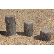 NatureRocks® Tree Stumps Ages 5-12 (set of 3)