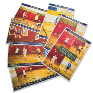 PE Central Cooperative Skills Challenge Poster Set (set of 7)