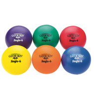 "Gator Skin® Jingle Balls, 6"" Asst Colors (set of 6)"