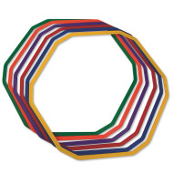 "12-Sided Agility Rings, 28"" (set of 6)"