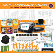 Wii™ Fit U Just Dance Group Fitness Pack for 8