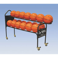 Deluxe Basketball Training Rack