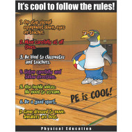 PE Rules Poster