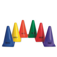 "6-Color Spectrum™ Cones, 9""  (set of 6)"
