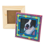 Unfinished Small Wooden Frames (pack of 12)