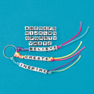 Single Letter Beads (pack of 50)