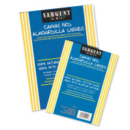 CANVAS PAD 9IN X12IN  10 SHTS PER PAD