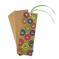 Kraft Paper Bookmarks (pack of 50)