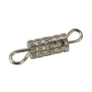 Silver Barrel Clasps (pack of 50)