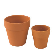 TERRA COTTA POT 3-1/8 IN SQ  PK12