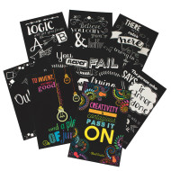 Velvet Art Inspirational Posters (set of 8)