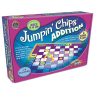Jumpin Chips Addition Game