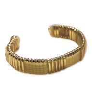 Rexlace Cuff Gold Bracelet Craft Kit (makes 12)
