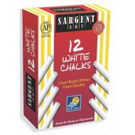 Sargent Art White Dustless Chalk