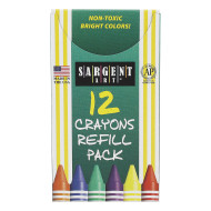 Sargent Art® Refill Crayons (box of 12)