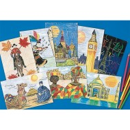 Multicultural Puzzles Craft Kit (makes 24)