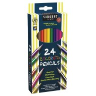 Sargent Art® Assorted Colored Pencils  (box of 24)