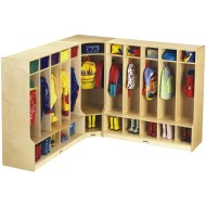 Corner Coat Locker