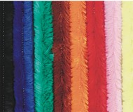 Colossal Chenille Stems, Assorted Colors (pack of 50)