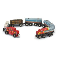 8-Piece Wooden Train Set