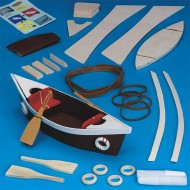 Unfinished D-I-Y Wood Canoe Kit