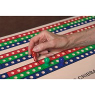 Jumbo Foam Cribbage Board