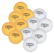 Jumbo Table Tennis Balls (pack of 12)