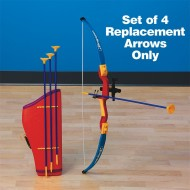Rubber-Tipped Replacement Arrows (set of 4)