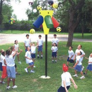 Gym-I-Nee™ Playground Hoop Game