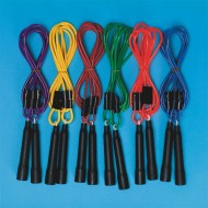 Spectrum™ Adjustable Length Jump Rope (set of 6)