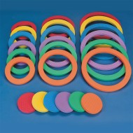 Spectrum™ Versa™ Foam Ring and Disc Set  (set of 24)