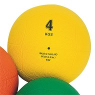 Rubber Medicine Ball, 8.8-lbs.
