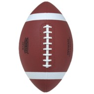 Tachikara® Tan Rubber Football