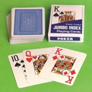Large Face Budget Playing Cards