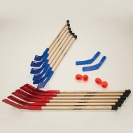 "Shield Elementary Wood 36"" Hockey Set"