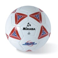 Mikasa® Soft Soccer Ball Size 4 Red/White